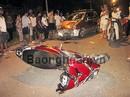 Chở nạn nhân đi cấp cứu... bị tai nạn