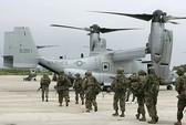 Osprey chưa được phép bay ở Okinawa - Nhật Bản