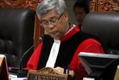 Chánh Tòa Hiến pháp Indonesia bị bắt
