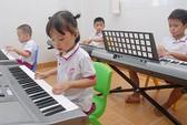 Trẻ mầm non học năng khiếu: Có mà như không