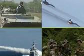 """Trung Quốc tập trận rầm rộ """"đe"""" Nhật Bản"""