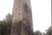 Bia tưởng niệm sứ thần Nhật ở Trung Quốc bị bôi bẩn