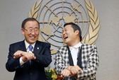 Tổng thư ký LHQ tập nhảy Gangnam Style