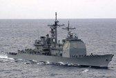 Tàu tuần dương và tàu ngầm hạt nhân Mỹ đâm nhau