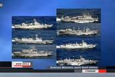 """Hải giám Trung Quốc gần Senkaku """"hung hãn hơn"""""""