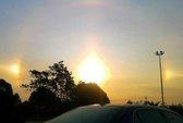 Ba mặt trời xuất hiện cùng lúc, người dân sợ tận thế