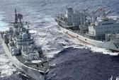 Tàu chiến Trung Quốc lởn vởn ngoài lãnh hải Nhật Bản