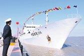 Trung Quốc đưa tàu ngư chính lớn nhất đến Senkaku