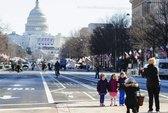 Số người dự lễ nhậm chức tổng thống Mỹ giảm mạnh