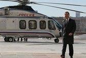Thủ tướng Nga đi làm bằng trực thăng