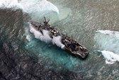 Tàu cá Trung Quốc mắc cạn ở Philippines