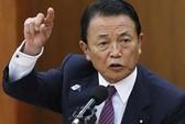 """Phó thủ tướng Nhật lại """"vạ miệng"""""""