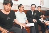 Dự tang lễ binh lính, lãnh đạo Đài Loan bị vây