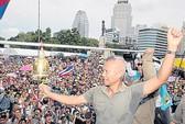 """Thái Lan: 4.000 người biểu tình đòi bỏ """"sự cai trị của Thaksin"""""""