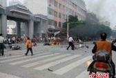 Trung Quốc: Xe máy nổ bí ẩn, 20 người thương vong