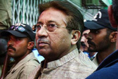 Vừa được thả 1 ngày, ông Musharraf lại bị bắt