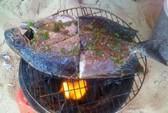 Cá dìa nướng muối ớt