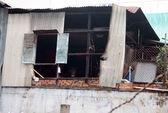 Cháy nhà sát chợ Bàn Cờ