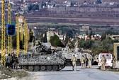 Máy bay Syria tấn công Lebanon