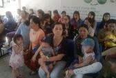 Đà Nẵng: Ồ ạt mang con đi tiêm phòng bệnh sởi