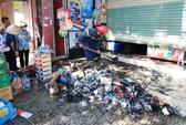 Cửa hàng tạp hóa bị thiêu rụi, 3 người may mắn thoát nạn