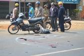 Cán qua đầu nạn nhân, tài xế lái xe bỏ chạy