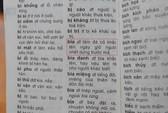 Tiêu hủy các cuốn từ điển có sai phạm của Vũ Chất
