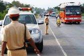 Kiểm điểm một Cảnh sát giao thông phát ngôn thiếu văn hóa