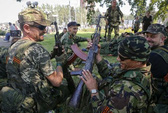 Lính dù Nga bị bắt tại Ukraine