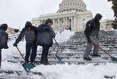 Mỹ: Văn phòng liên bang đóng cửa vì … bão tuyết