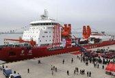 Tàu phá băng Trung Quốc mắc kẹt ở Nam Cực