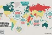 Mỹ bị loại khỏi tốp 100 quốc gia hòa bình nhất thế giới