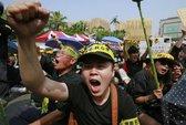 Đài Loan biểu tình phản đối hiệp định Trung-Đài