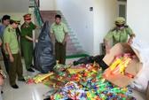 Hám lời, nhập gần 1.000 đồ chơi bạo lực Trung Quốc bán dịp trung thu