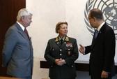 Lực lượng gìn giữ hòa bình LHQ có nữ tư lệnh đầu tiên