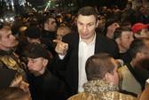 Cựu tay đấm Klitschko bất ngờ bỏ tranh cử tổng thống Ukraine