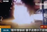 Trung Quốc: Tưới xăng thiêu sống tình địch rồi tự sát