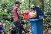 Dọn rác cho Vườn Quốc gia Ba Vì
