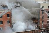 Mỹ: Nổ lớn ở New York, giật sập 2 tòa nhà