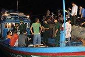 Tàu cá Lý Sơn bị người Trung Quốc cướp tài sản