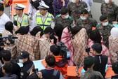 Hàn Quốc: Tàu chìm, 284 người mất tích