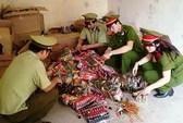 Bắt gần 2 tấn bánh kẹo Trung Quốc dạng đồ chơi nhập lậu