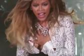 Nhảy quá sung, Beyonce bị