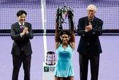 Chưa ai cản được Serena