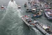 Trung Quốc phản đối Nhật - Đài bắt tay