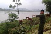 1 người bị nước cuốn mất tích nhiều ngày trên sông Mã