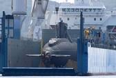 Lai dắt tàu ngầm TP Hồ Chí Minh vào cảng Cam Ranh