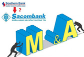 """""""Buộc"""" sáp nhập Phương Nam vào Sacombank, sau đó sẽ là ngân hàng yếu khác"""