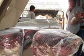 Đường ra bãi rác của 12 tấn thịt bò ngoại