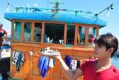 Thêm một tàu cá bị tàu Trung Quốc truy đuổi, ném đá